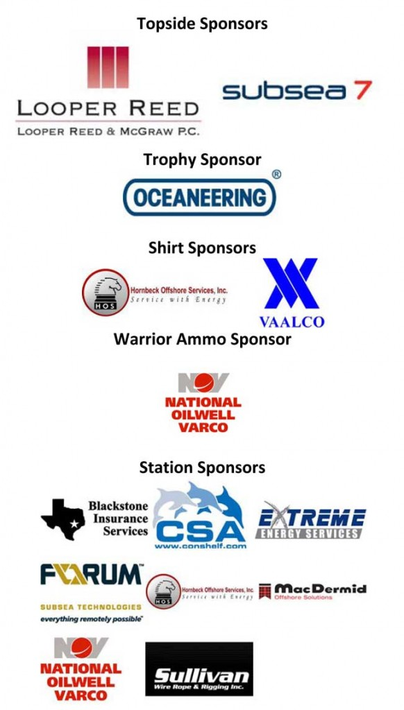 IAH Clay Shoot Sponsors