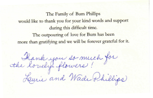 Phillips Thank You