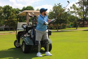 IAH Golf Action Shot
